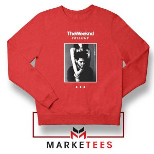 Trilogy Merch Red Sweatshirt