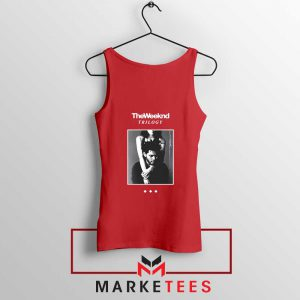 Trilogy Merch Red Tank Top