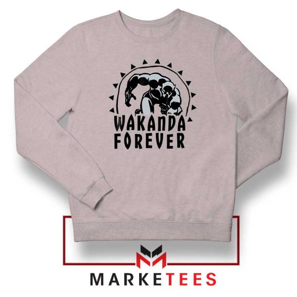 Wakanda Forever Movie Sport Grey Sweatshirt