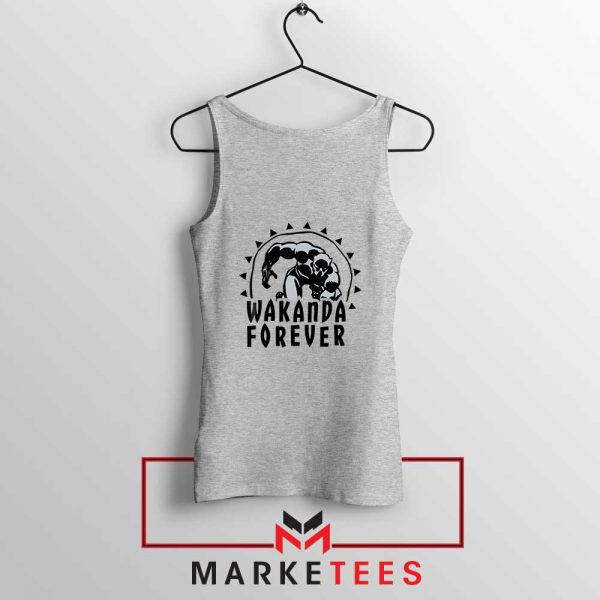 Wakanda Forever Movie Sport Grey Tank Top