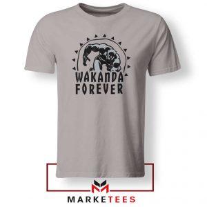 Wakanda Forever Movie Sport Grey Tshirt