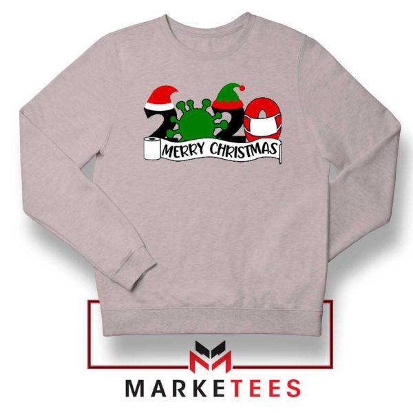 2020 Merry Christmas Sport Grey Sweatshirt