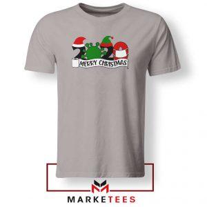 2020 Merry Christmas Sport Grey Tshirt