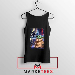 Baby Yoda The Mandalorian Tank Top