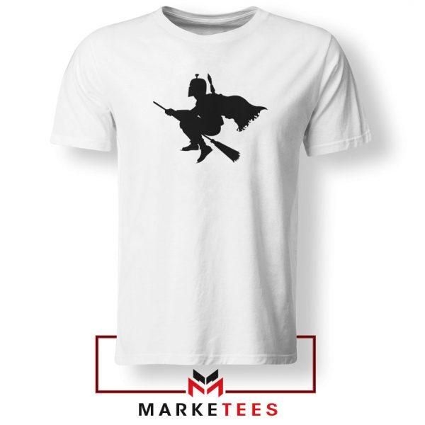 Darth Vader Riding Broomstick Tshirt
