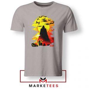 Darth Vader Silhouette Sport Grey Tshirt