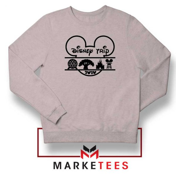 Disney Trip 2020 Sport Grey Sweatshirt