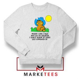 Garfield Cowboy Sweatshirt
