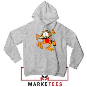 Garfield Cute Sport Grey Hoodie