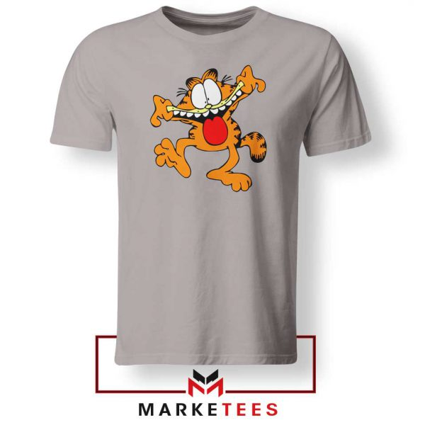 Garfield Cute Sport Grey Tshirt