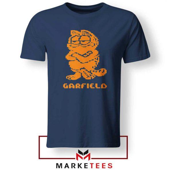 Garfield The Cat Navy Blue Tshirt