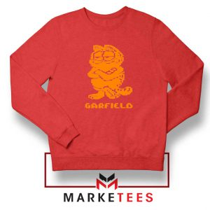 Garfield The Cat Red Sweatshirt