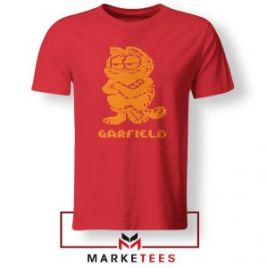 Garfield The Cat Red Tshirt