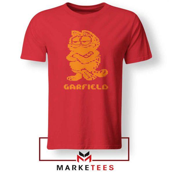 Garfield The Cat Red Tshirt