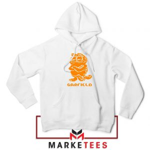 Garfield The Cat White Hoodie