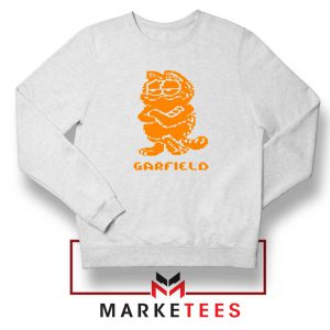 Garfield The Cat White Sweatshirt