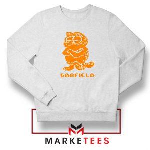 Garfield The Cat White Sweatshirt