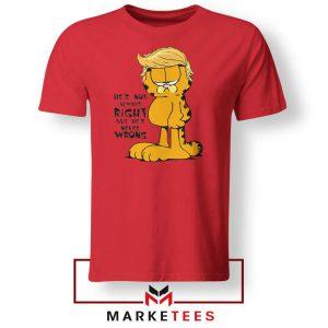 Garfield Trump Red Tshirt