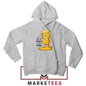 Garfield Trump Sport Grey Hoodie