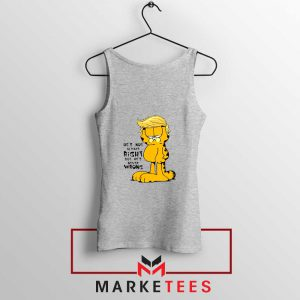 Garfield Trump Sport Grey Tank Top