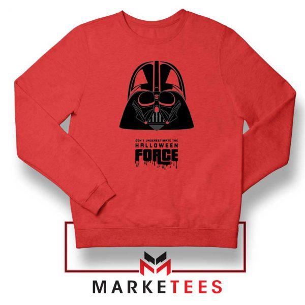 Halloween Force Red Sweatshirt