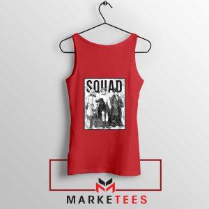 Hocus Pocus Squad Red Tank Top