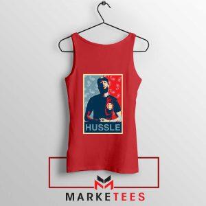 Hussle Rapper Red Tank Top
