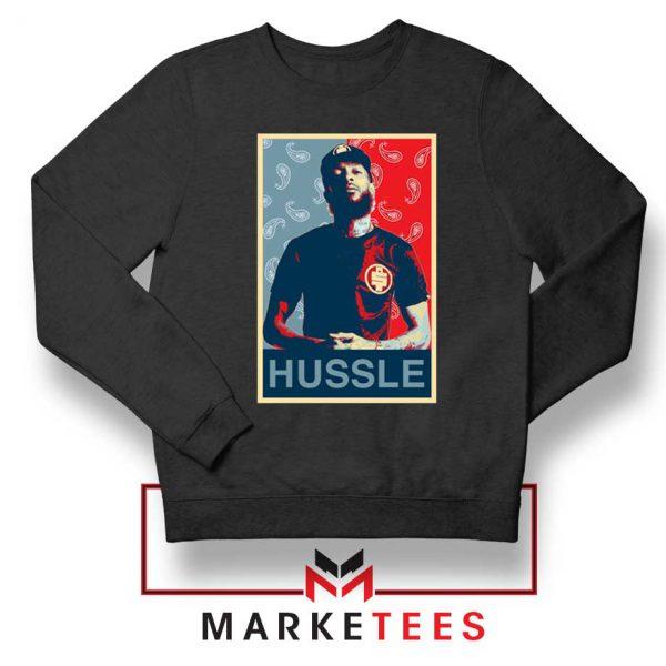 Hussle Rapper Sweatshirt