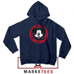 Member Club Mickey Navy Blue Hoodie