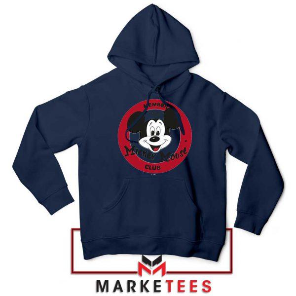 Member Club Mickey Navy Blue Hoodie