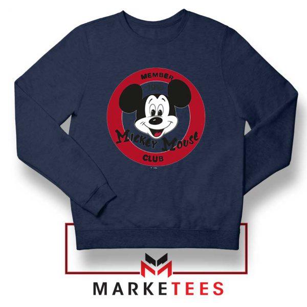 Member Club Mickey Navy Blue Sweatshirt