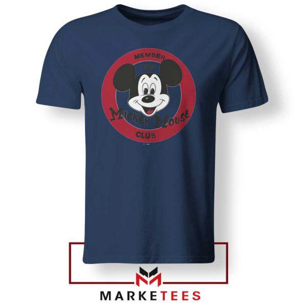 Member Club Mickey Navy Blue Tshirt