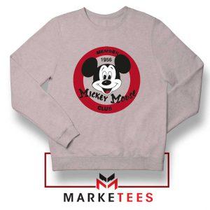 Member Club Mickey Sport Grey Sweatshirt