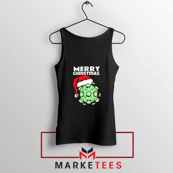 Merry Christmas Corona Black Tank Top