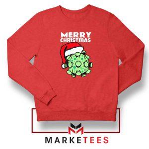 Merry Christmas Corona Red Sweatshirt