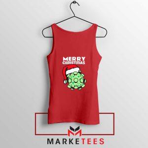 Merry Christmas Corona Red Tank Top