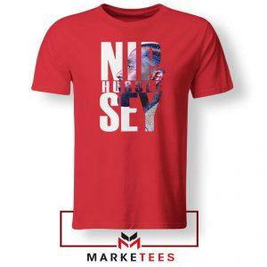 NIP Hussle Sey Red Tshirt