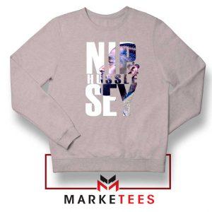 NIP Hussle Sey Sport Grey Sweatshirt