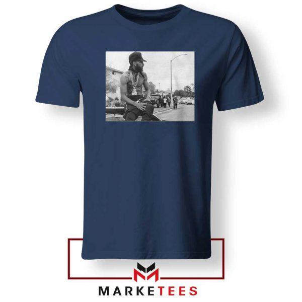 Nipsey Boulevard Navy Blue Tshirt