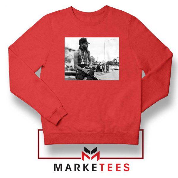 Nipsey Boulevard Red Sweatshirt