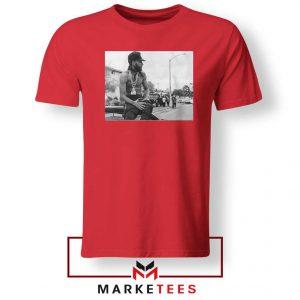 Nipsey Boulevard Red Tshirt