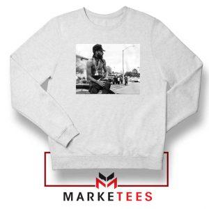 Nipsey Boulevard White Sweatshirt