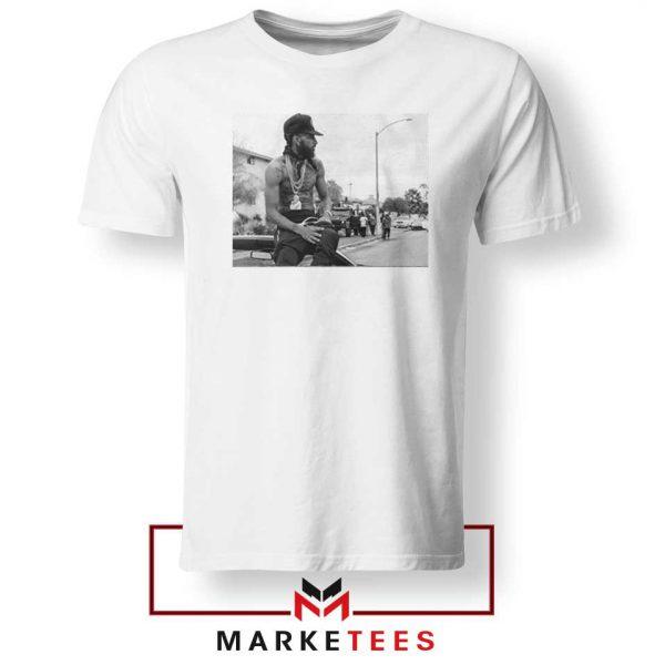 Nipsey Boulevard White Tshirt