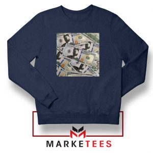 Nipsey Cryptocurrency Navy Blue Sweatshirt