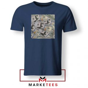 Nipsey Cryptocurrency Navy Blue Tshirt