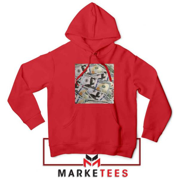 Nipsey Cryptocurrency Red Hoodie