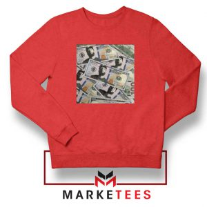 Nipsey Cryptocurrency Red Sweatshirt