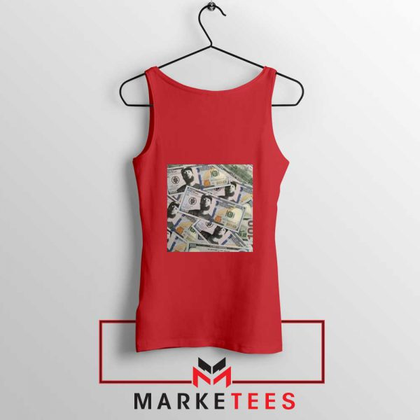 Nipsey Cryptocurrency Red Tank Top
