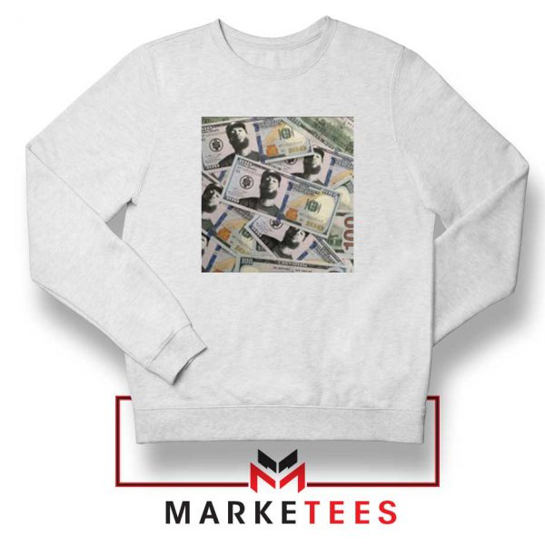 Nipsey Cryptocurrency White Sweatshirt