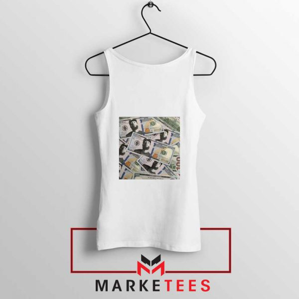 Nipsey Cryptocurrency White Tank Top
